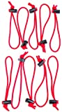 Think Tank Photo Red Whips Adjustable Cable Ties- 10 Pack
