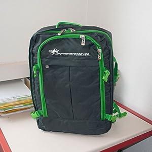DS24 Transport Rucksack für Yuneec Q500 Zuebhör Wasserdicht schwarz grün ultraleicht