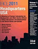 img - for Headquarters USA (Headquarters USA (2v.)) book / textbook / text book
