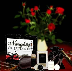 Romantic Gift - The Naughty Weekender Lovers Kit