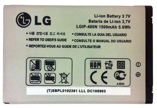 LG LGIP-400N Battery for LG Optimus GT540 / Optimus C LW690 / Optimus M MS690 / Optimus T P509 / Optimus S LS670 / Optimus U US670 / Optimus V VM670 / Optimus One P500 / Optimus One P503 / Puccini GT500S / Phoenix p505 / Thrive p506 / Genesis us760 / GX500 / GM750 / P520 / P525 - Retail Packaging (Battery Lg Optimus V compare prices)