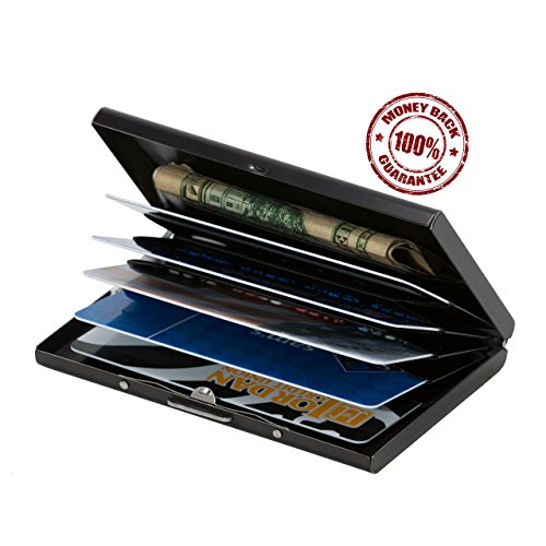 06. Best RFID Blocking Wallet for Men and Women, Safe and Secure Protection for Travel and Work, Includes Inserts