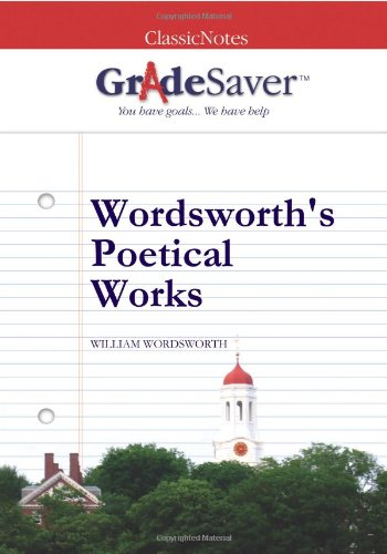 wordsworth s poetical works essays gradesaver wordsworth s poetical works william wordsworth