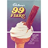 Cadbury's 99 Flake Postcard