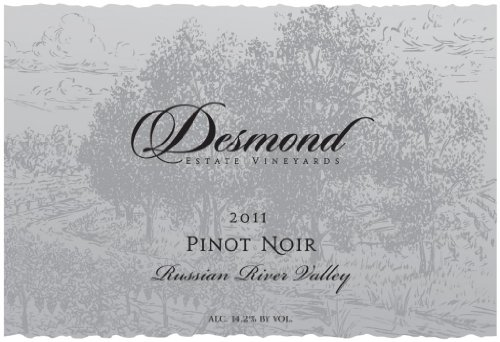 2011 Desmond Wines Russian River Valley Estate Pinot Noir 750 Ml