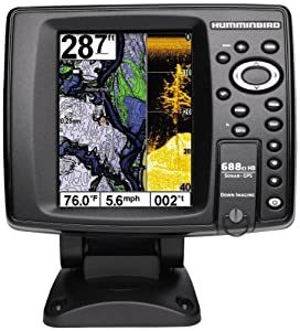 Humminbird 409460-1 688ci HD DI Internal GPS Sonar Combo Fishfinder with Down Imaging by Humminbird