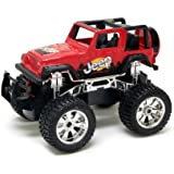 New Bright Radio Control Full Function Red Jeep Wrangler