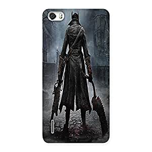 Unicovers Dark Hunk Back Case Cover for Honor 6