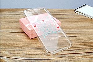 Thin Clear Soft Pretty Wedding Love Birds Phone Cover for iPhone 6(5)