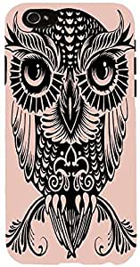 Snoogg EGYPTIAN OWL Case Cover For Apple Iphone 6 iphone 6
