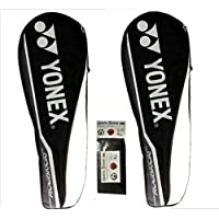 Yonex Nanoray 6000i G4 Strung Badminton Racquet ( Pack Of 2 ) WITH FREE SPORTSHOUSE WRISTBAND