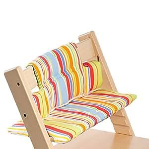 Cuscino stokke per tripp trapp art stripes for Seggiolone stokke tripp trapp amazon