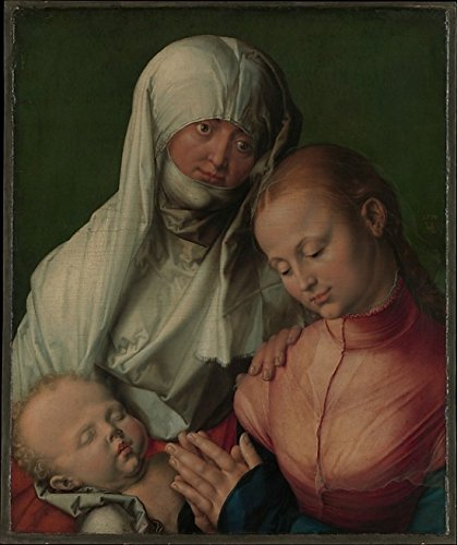 Virgin And Child With Saint Anne Poster Print By Albrecht Dürer (18 X 24)
