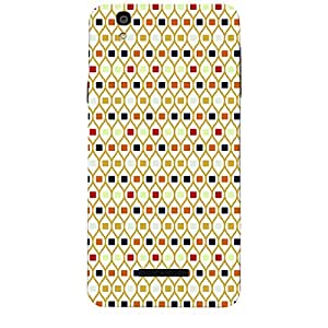 Skin4Gadgets ABSTRACT PATTERN 272 Phone Skin STICKER for MICROMAX YUREKA