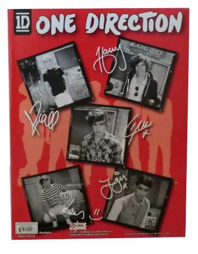 One Direction 2 Pocket Portfolio Folder (One Direction Journal compare prices)