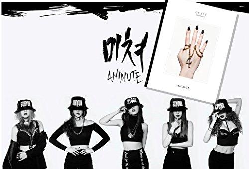 4MINUTE CRAZY 6th ミニアルバム(韓国盤)(デラックス特典付)(ワンオンワン店限定)