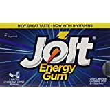 Jolt Energy Gum - Icy Mint, 12 count packages