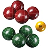 Verus Sports Expert Bocce Ball Set with Easy Carry Nylon Case (9-Piece)