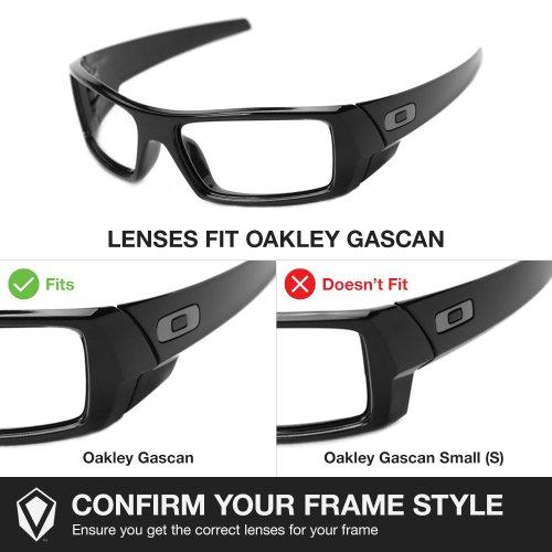 oakley gascan black iridium polarized lenses  lenses for oakley gascan