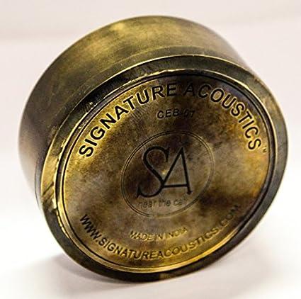 Signature-Acoustics-O16-Brass-In-the-Ear-Headphone