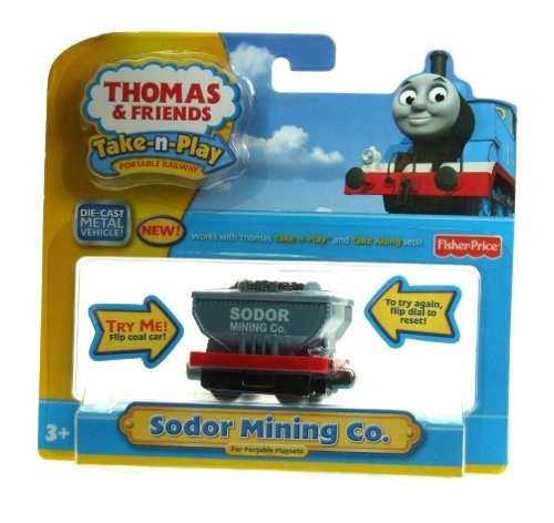 Thomas & Friends Take-n-Play - Sodor Mining Company Rail Car - 1