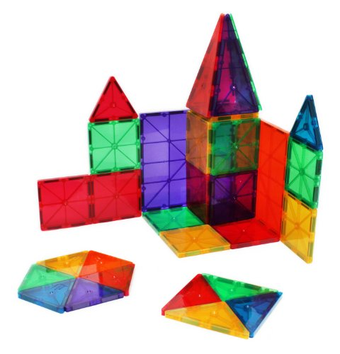 Magnetic Building Blocks and Tiles