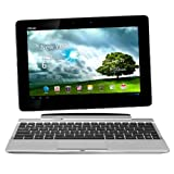 """Asus Transformer Pad TF300T 25,7 cm (10,1 Zoll) Convertible Tablet-PC (NVIDIA Tegra 3, 1,3GHz, 1GB RAM, 32GB eMMC, NVIDIA 12 Core, Touchscreen, Android 4.0) inkl. KeyDock wei�von """"ASUS Computer"""""""
