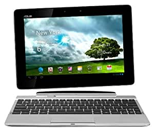 Asus Transformer Pad TF300T 25,7 cm (10,1 Zoll) Convertible Tablet-PC (NVIDIA Tegra 3, 1,3GHz, 1GB RAM, 32GB eMMC, NVIDIA 12 Core, Touchscreen, Android 4.0) inkl. KeyDock weiß