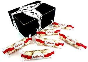 Ferrero Raffaello Almond Coconut Treats, 1 oz Sleeves in a BlackTie Box (Pack of 6)