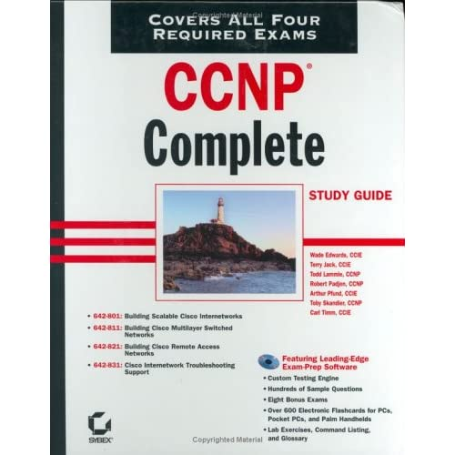 CCNP: Complete Study Guide (642-801, 642-811, 642-821, 642-831)