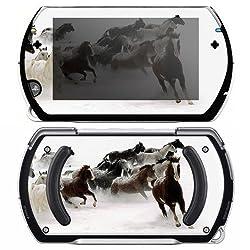 Sony Psp Go Decal Skin Horse Power