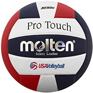 Buy Molten Pro Touch Volleyball by Molten