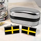 St David's Flag Mens Gift Cufflinks UK