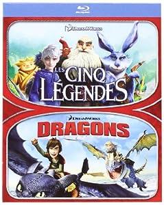 Les Cinq Légendes + Dragons [Blu-ray]
