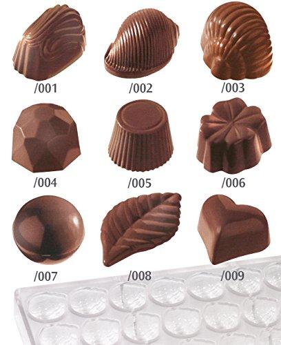 Contacto-Bander-Moule--chocolats-en-forme-de-trfle