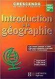 Introduction à la géographie