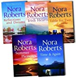 Nora Roberts Nora Roberts Collection 10 Novels In 5 Books Set Pack (Irish Hearts (Irish thoroughbred & Irish Rose), Time and Again (Time Was & Times Change), Table for Two (Summer Desserts & Lessons Learned), Reflections and Dreams (Reflections & Dance o