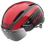 GIRO(ジロ) 自転車 ヘルメット AIR ATTACK SHIELD エアーアタックシールド Red/Black レッド×ブラック M 7054657