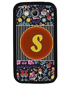 PrintVisa Metal Printed Alphabet Designer Back Case Cover for Samsung Galaxy Grand Neo Plus I9060I-D4803