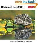 Heimische Tiere 2016: Kalender mit 53...