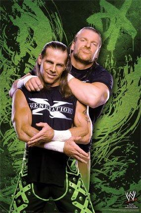 Poster WWE, motivo Generation X, 24 x 36 cm