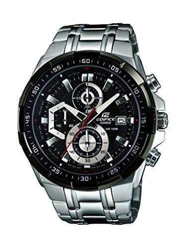 Casio  EFR-539D-1AVUEF - Reloj de cuarzo para hombre, con correa de acero inoxidable, color plateado