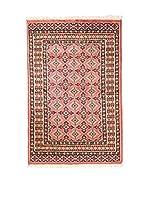 QURAMA Alfombra Kashmir Rojo/Multicolor 121 x 77 cm