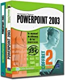 echange, troc Corinne Hervo, Pierre Rigollet - Powerpoint 2003 : Coffret 2 livres