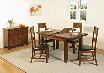 Roscrea Acacia Small Extending Dining Table