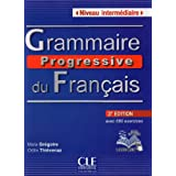 Grammaire Progressive Du Francais - Nouvelle Edition: Livre Intermediaire 3e Edition + Cd-audio (Collec Progress) (French Edition)