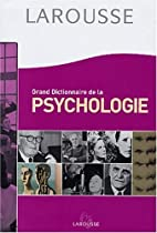 Grand Dictionnaire de la psychologie