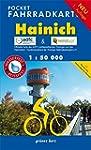 Pocket-Fahrradkarte Hainich: Maßstab...