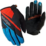 Troy Lee Designs Men's Ace Gloves - Blue/Orange, X-Large