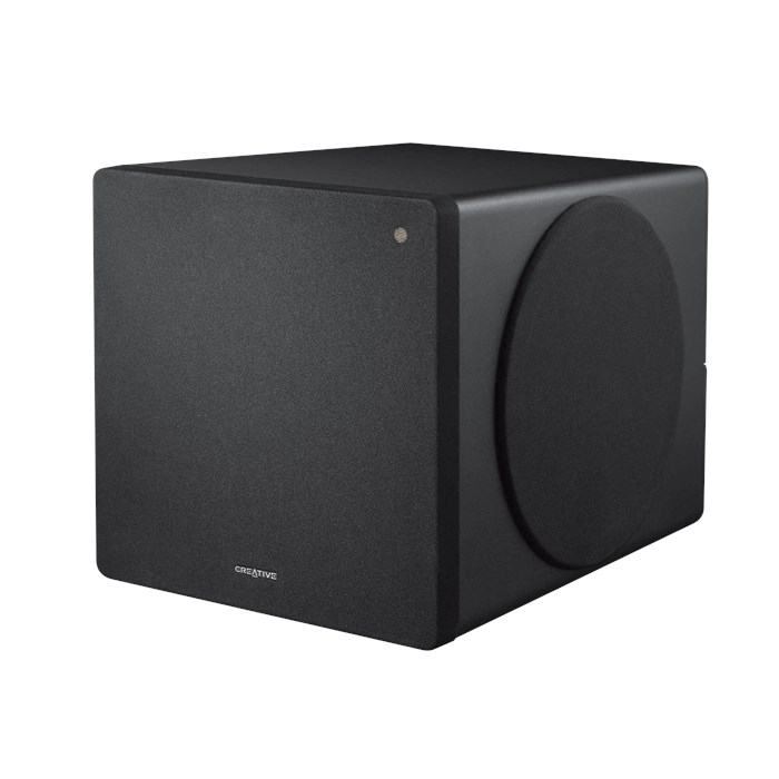 Creative Dsxm Modular Wireless Subwoofer For D3Xm And D5Xm Bluetooth Speakers